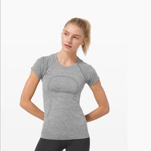 Lululemon Gray Swiftly Tech Short Sleeve Shirt